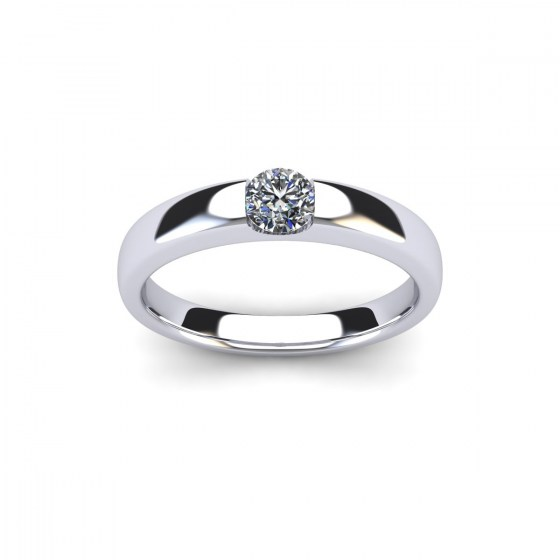 030 Modern Reveal Ring