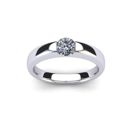 040 Modern Reveal Ring