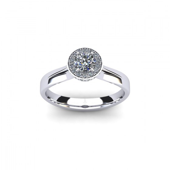 Noble Engagement Ring