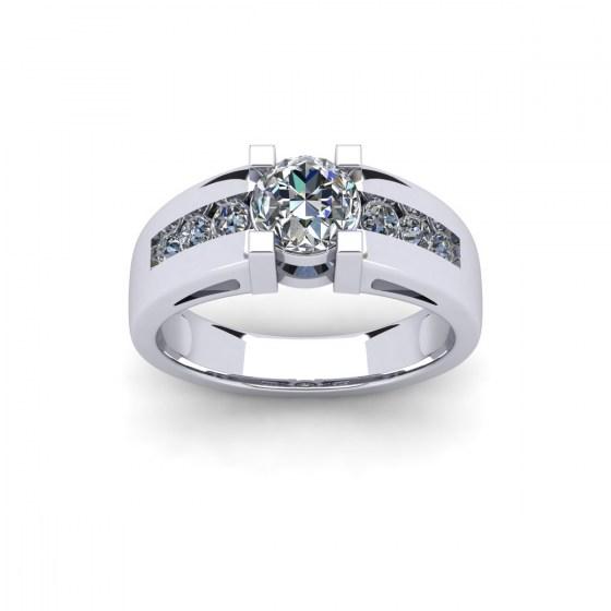 Diamond Bridge Ring