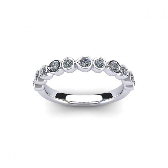 Diamond Drops Ring