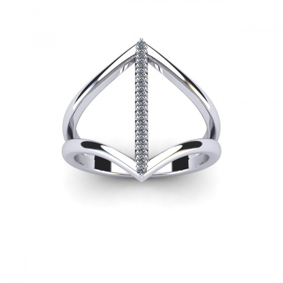 Diamond Gladiator Ring