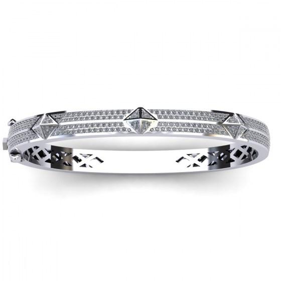 Diamond Studded Bangle