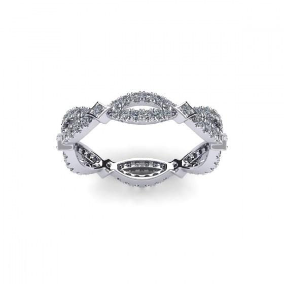 Eternal XOXO Diamond Ring