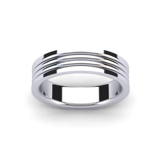 Layered Band Ring