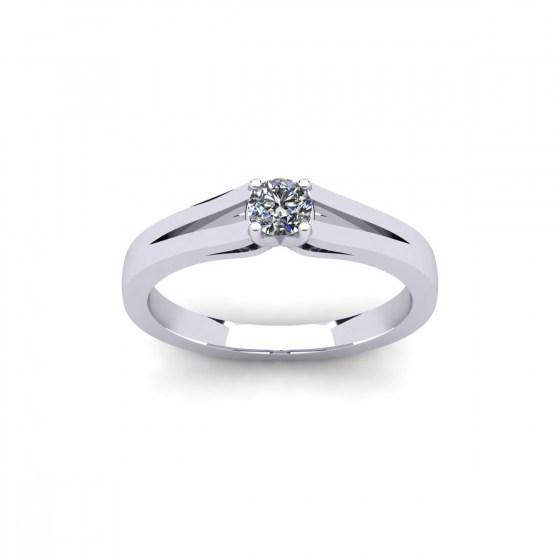 Split Shank Promise Ring